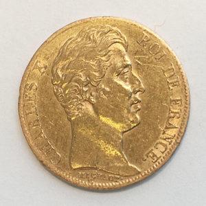 Frankreich 20 Francs Gold 1825 Charles X
