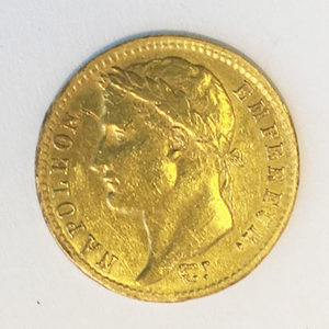 Frankreich 20 Francs Gold Napoleon 1809