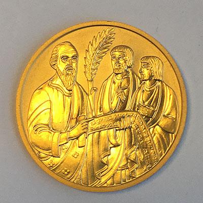 österreich 500 Schilling Goldmünze Die Bibel 2001
