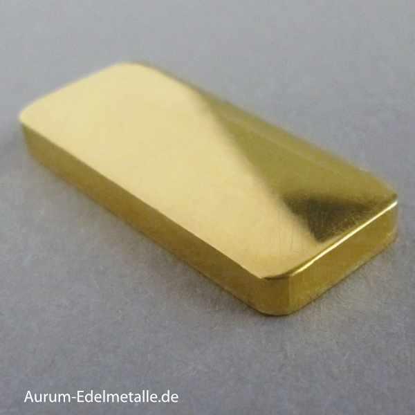 Goldbarren 10g Feingold 9999 diverse Hersteller Stanzbarren oder Gussbarren