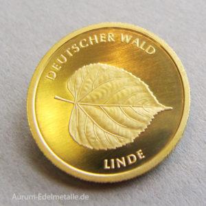 20 Euro Gold Deutscher Wald Linde 2015