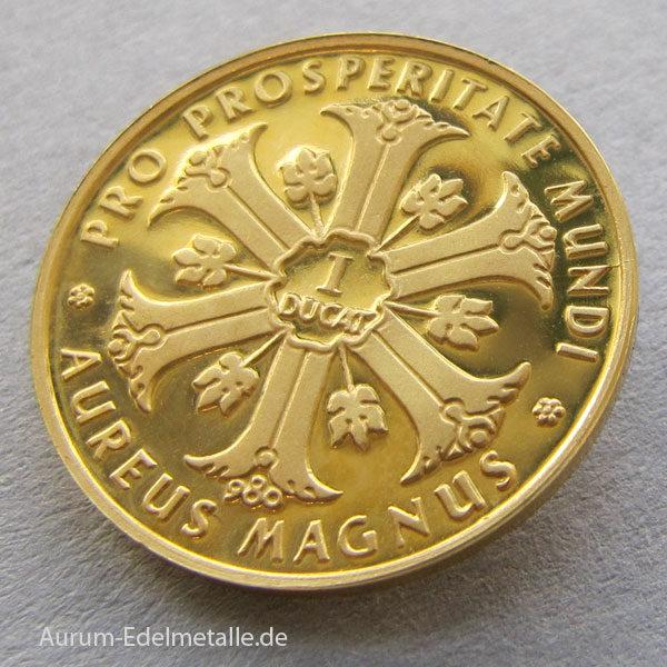 Aureus Magnus 1 Dukat Gold