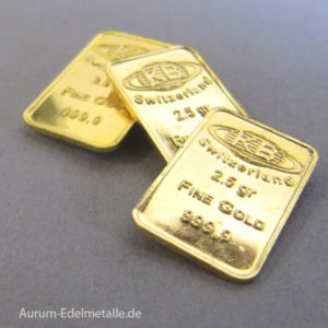 Goldbarren 2_5g Resale