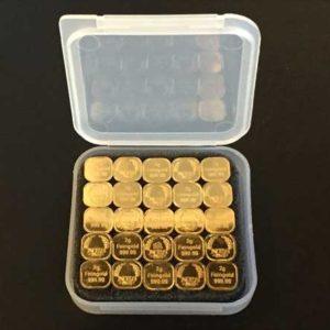 2g Gold Barren Tafelgold 50g