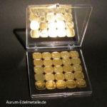 50 Gramm Tafelgold 2g Barren