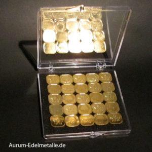 Gold Tafeln