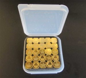 1g Superfeingold 99999 - 25 Gramm Tafelgold