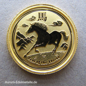 Australien 1_20 oz Lunar II Year of the Horse Gold 2014
