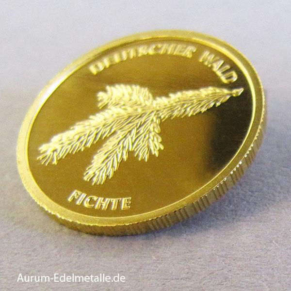 20 Euro Goldmünze Deutscher Wald Fichte 2012