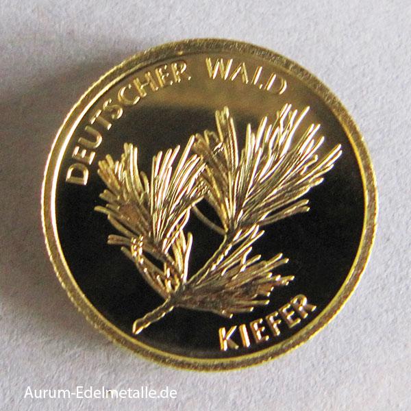 20 Euro Goldmünze Deutscher Wald Kiefer 2013 Feingold 9999