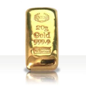 20g Goldbarren Feingold 9999