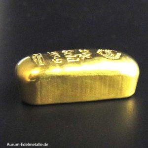 Mittlere Goldbarren