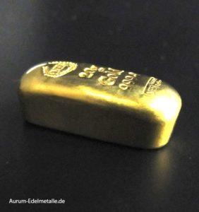 NES Goldbarren 20g Feingold 999.9 gegossen -3