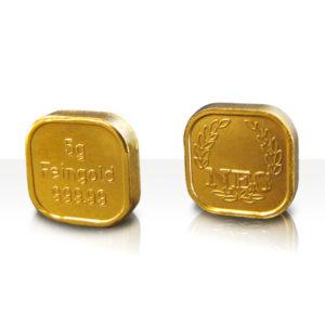 5g Goldbarren Superfeingold 99999 Norddeutsche ES