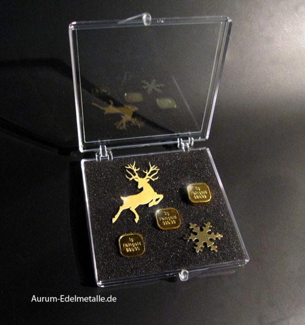 Goldbarren Sonderausgabe - Goldene Weihnacht