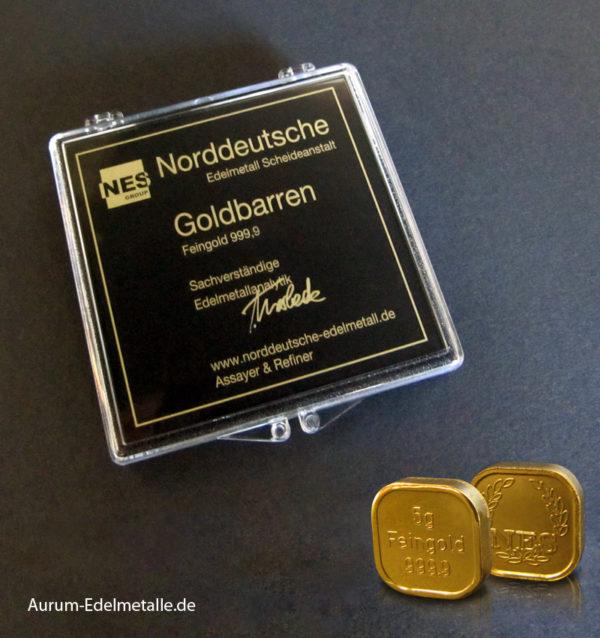 125 Gramm Tafelgold 5g Barren Feingold 9999