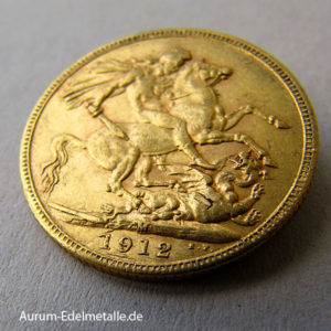 Australien One Pound Sovereign George V Gold 1911-1931