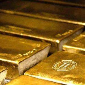 Große Goldbarren