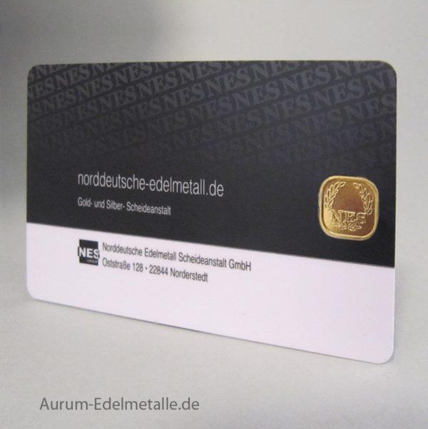 SecuBlist® 2 Gramm Goldbarren 999.9 NES