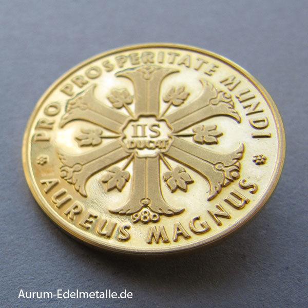 Aureus Magnus IIS Ducat 2,4 Dukaten Goldmünze