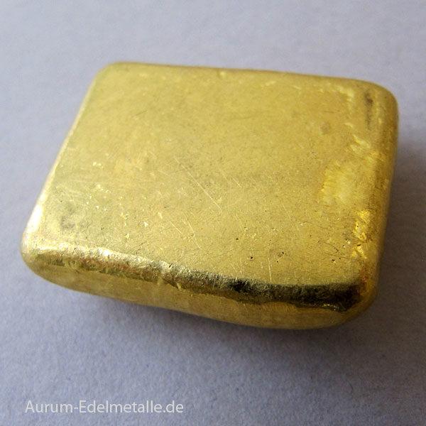 Goldbarren 50g historisch Schöne Edelmetaal Niederlanden