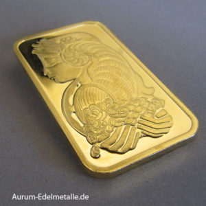 Goldbarren 1 oz PAMP Suisse Fortuna