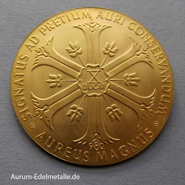 Aureus Magnus X Dukat 1000 Jahre Jubiläum Lüneburg 1956