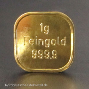 Goldbarren-1g-Super-Feingold-9999-Norddeutsche-ES-solo-N4