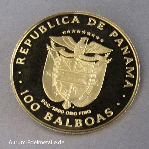 Panama 100 Balboas 1975