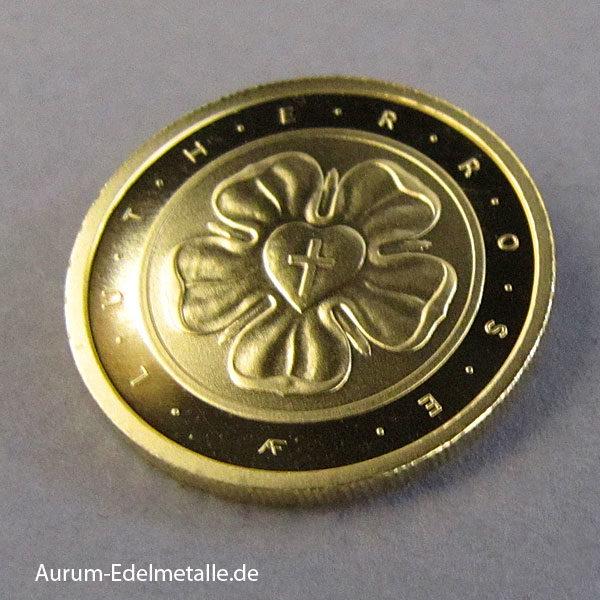Deutschland 50 Euro Goldmünze 2017 Lutherrose