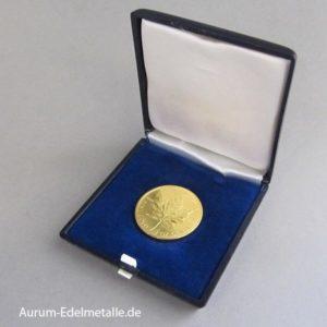 Goldmünze Maple Leaf 1 oz Geldgeschenk