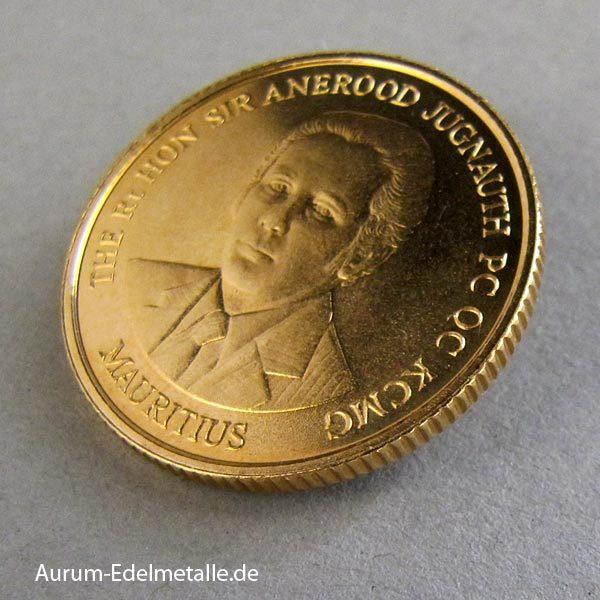 Mauritius Goldmünze 250 Rupees 1988 Dodo