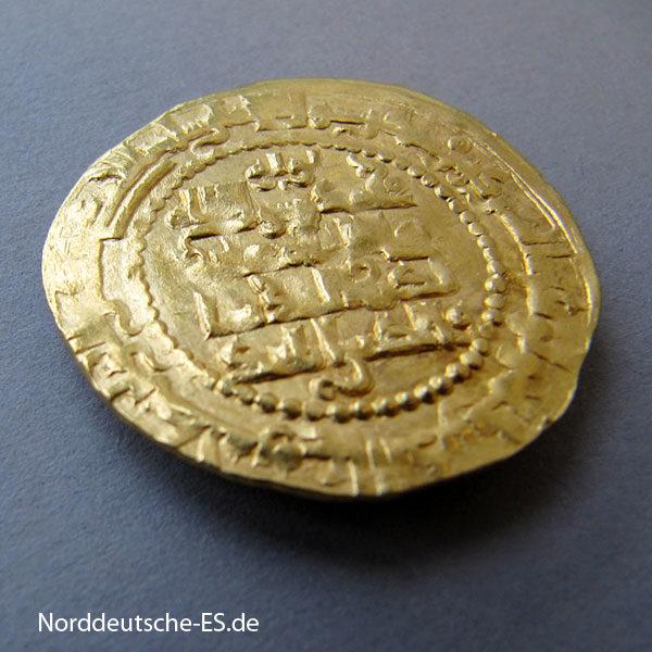 Irak Mossul Dinar 1219-1233 Zengiden Nasir ad-Din Mahmud