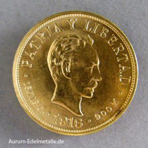 Cuba 10 Pesos 1916 Diez Pesos