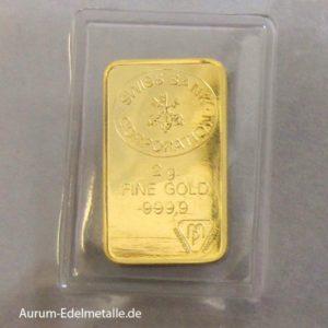 Goldbarren 2g Feingold 9999 Diverse Hersteller