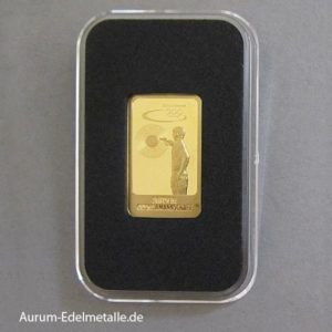 Goldbarren 5 g Deutsche Olympiamannschaft Schiesssport