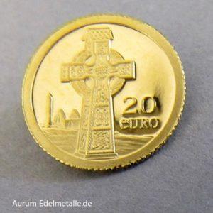 Irland 20 Euro Gedenkmünze 2011 Keltisches Kreuz