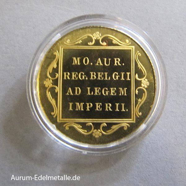 Niederlande 1 Dukat Goldmünzen Ritter Neuprägung