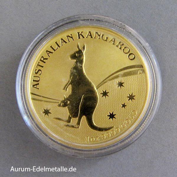 Australien Kangaroo Nugget 2009 Goldmünze 1 Unze