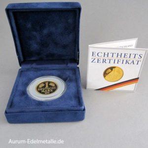 2001 Goldmark Geschenk Etui