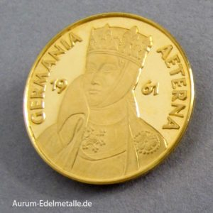 Aureus Magnus Goldmünze Germania Aeterna