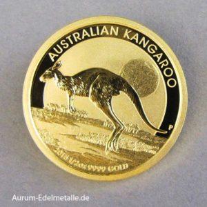 Australien Kangaroo 1_2 Unze Gold 2015