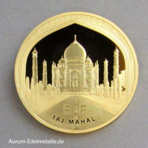 Goldmünze Taj Mahal 1 OZ Frankreich