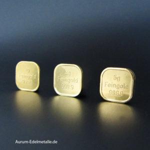 Goldbarren 8 g Feingold 9999 Geschenk Zertifikat