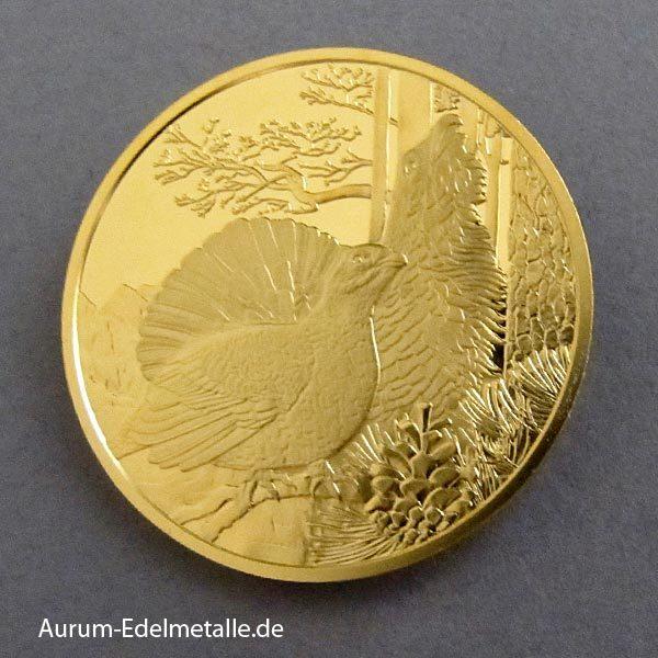 Österreich 100 Euro Auerhahn 2015 Goldmünze