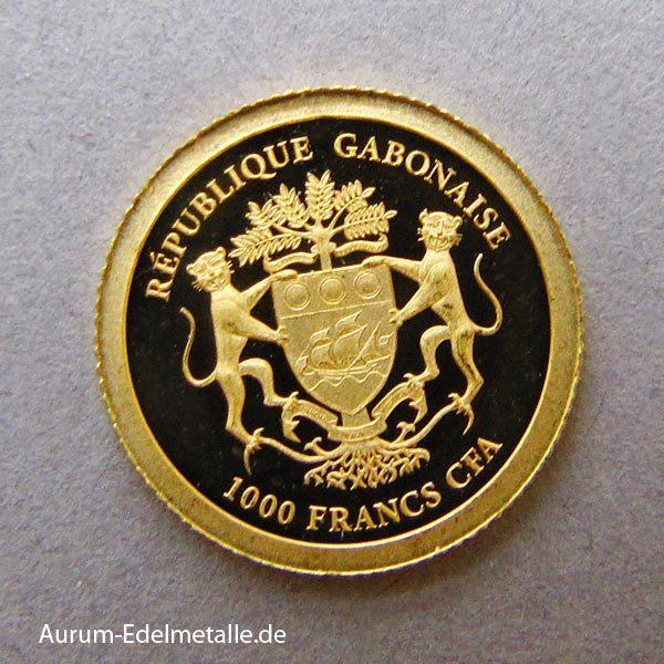 africans-pride-2017 goldmünzen Gabun