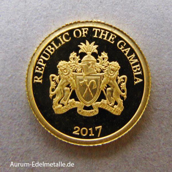 africans-pride-2017 goldmünzen Gambia