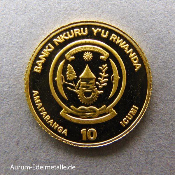 africans-pride-2017 goldmünzen Ruanda