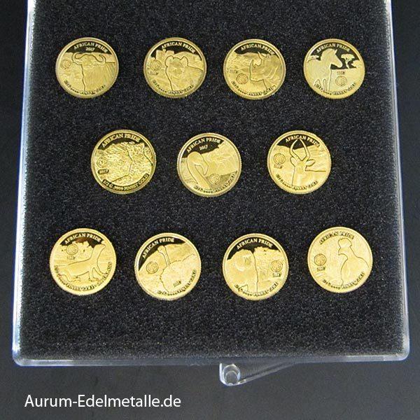 Goldmünzen Kollektion African Pride 2017