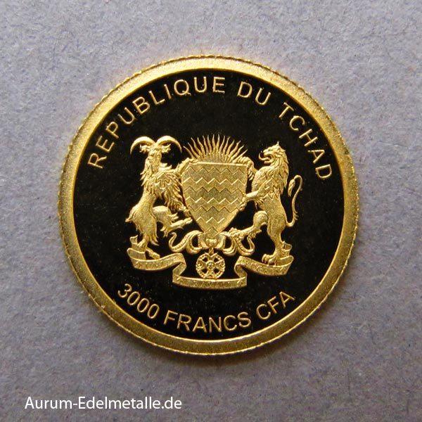 africans-pride-2017 goldmünzen Tschad